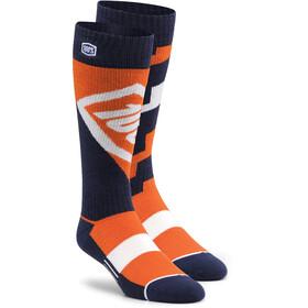 100% Torque Comfort Moto Socks orange